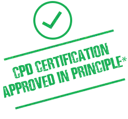 CPD Certification approved in principle