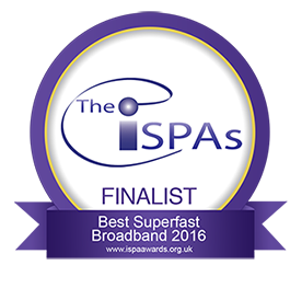 Best super fast broadband - Finalist