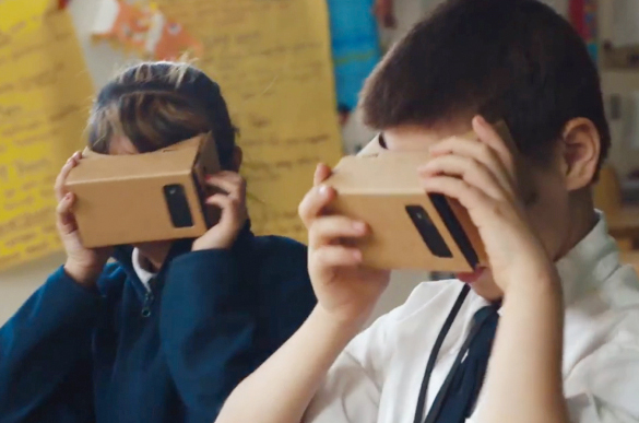 Image courtesy of Google Expeditions project