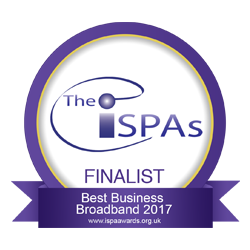 The ISPAs - FINALIST - Best Business Broadband 2017